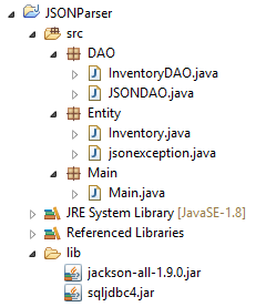 Jackson ( org codehaus jackson ) – Parse Java List to String
